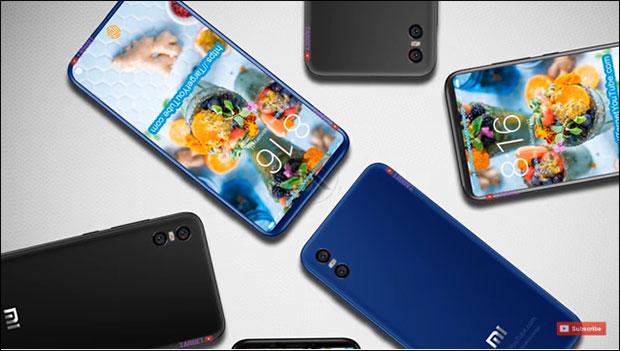 Появился реалистичный концепт флагмана Xiaomi Mi 7