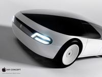 Концепт Apple Car стал победителем конкурса в Лос-Анджелесе