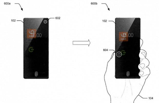 Сгибающийся смартфон Motorola появился напервых патентных изображениях