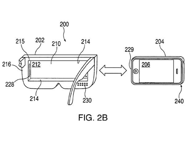 Apple запатентовала шлем виртуальной реальности для iPhone