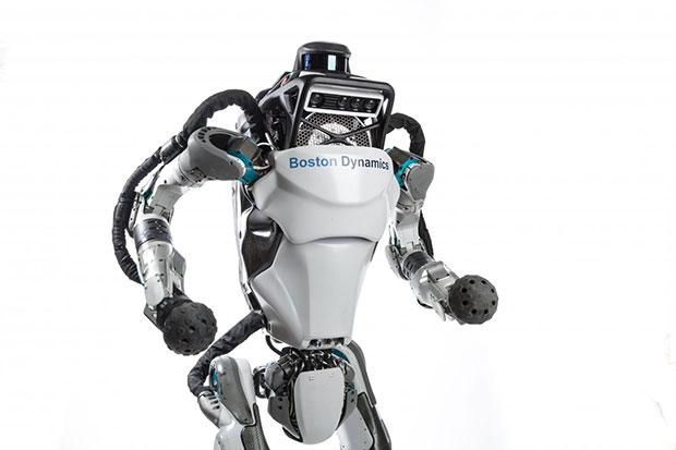Робот Atlas научился делать сальто спереворотом