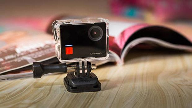LeEco представила экшн-камеру Liveman C1 споддержкой 4K иWi-Fi