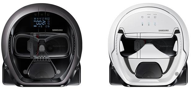 Samsung выпустила пылесос в образе Дарта Вейдера