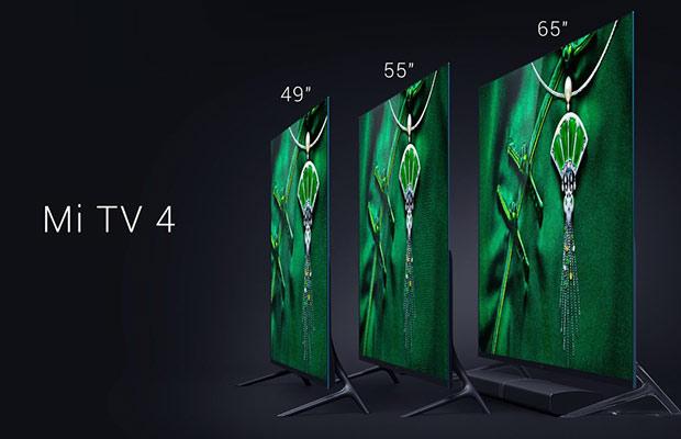 Толщина Xiaomi MiTV 4 составляет всего 4,9мм