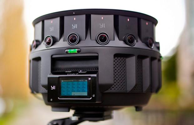 Google презентовала новейшую камеру 360 YiHalo