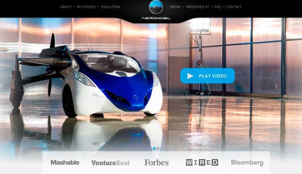 В будущем 2017г. европейский стартап представит автомобиль-самолет