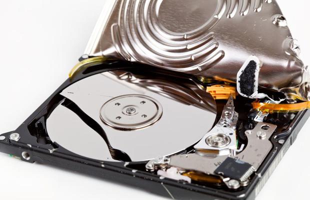 Почему долго форматируется жёсткий диск