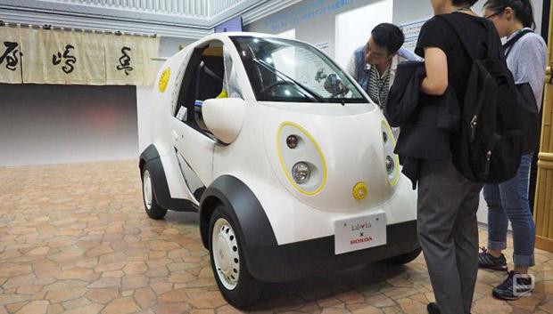 Хонда представила 1-ый автомобиль, напечатанный на3D-принтере