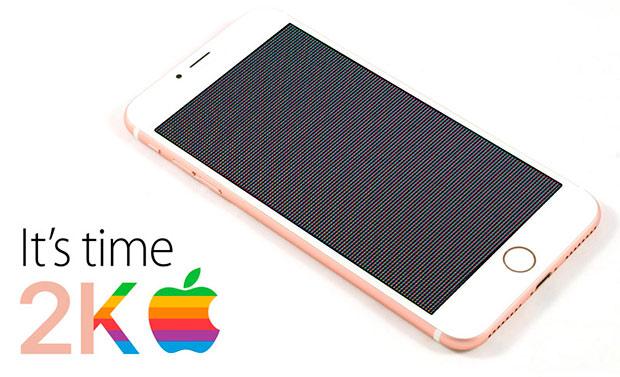 5,5-дюймовому iPhone 7 приписывают 2K-дисплей