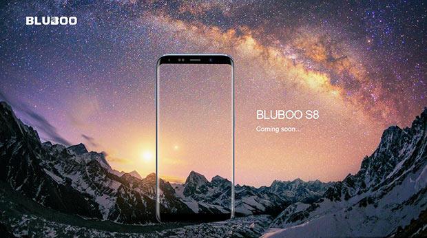 ВBLUBOO работают над телефоном S8 ссоотношением сторон 18:9