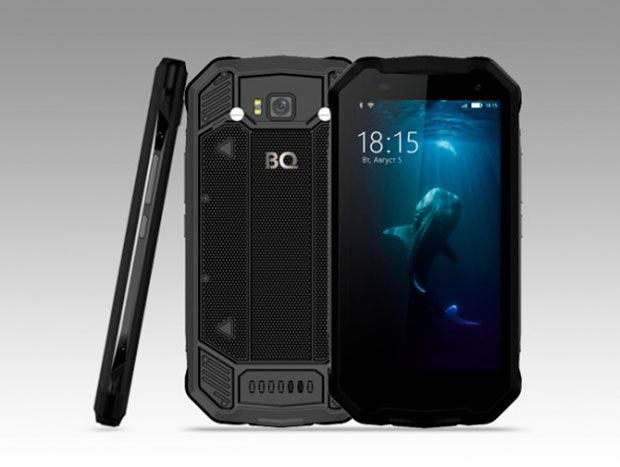 Представлен смартфон-внедорожник BQ-5033 Shark