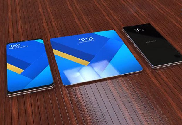Складной Самсунг Galaxy Xвыйдет в 2019-ом
