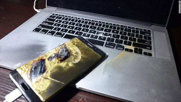 Ещё один Samsung Galaxy Note 7 взорвался через день после покупки