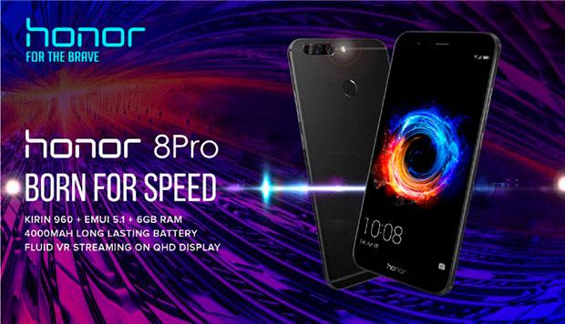 В Российской Федерации начались продажи Honor 8 Pro и8 Lite