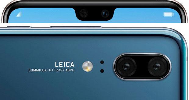 Стали известны характеристики Huawei P20 иHuawei P20 Pro