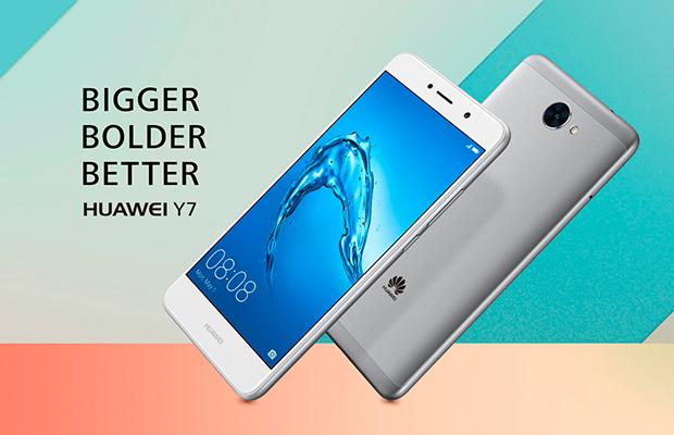Huawei Y7 спроцессором Snapdragon 435 и андроид Nougat представлен официально