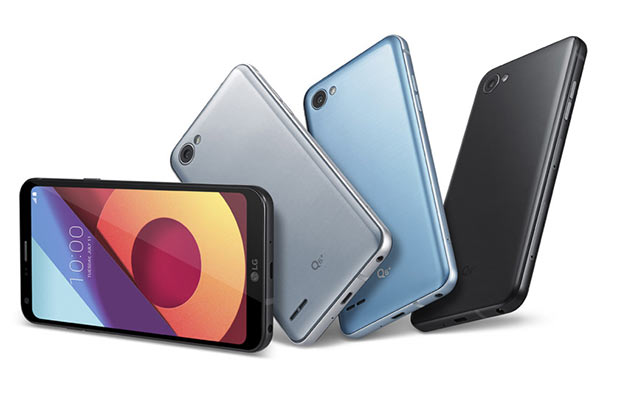 LGQ6 сбезрамочным дизайном официально представили в3-х вариантах