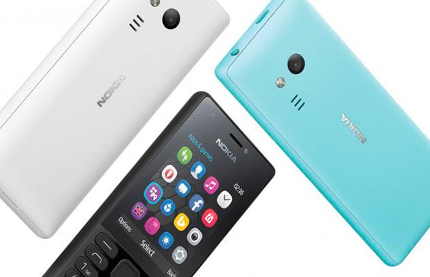 Microsoft анонсировала кнопочный телефон нокиа 216