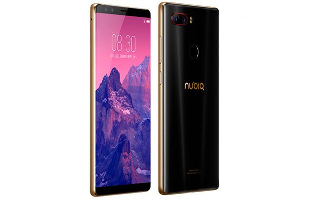 Nubia Z17S с 5,73-дюймовым полноэкранным дисплеем и Snapdragon 835 пре