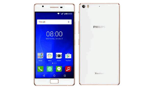 В РФ представлен смартфон Philips Xenium Х818