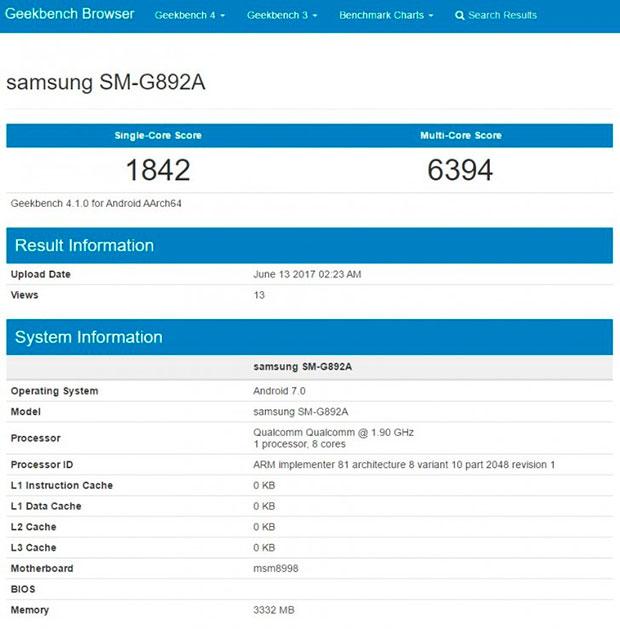 Защищённый смартфон Samsung Galaxy S8 Active получит SoC Snapdragon 835 и 4 ГБ ОЗУ