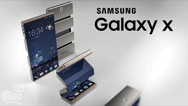 Гибкий смартфон Samsung Galaxy X прошел сертификацию