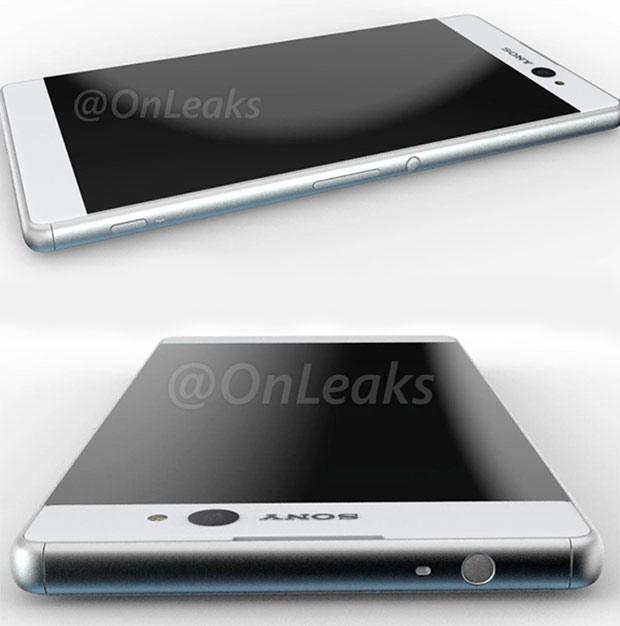 Рендер Sony Xperia C6 Ultra с 16-Мп фронтальной камерой (видео)
