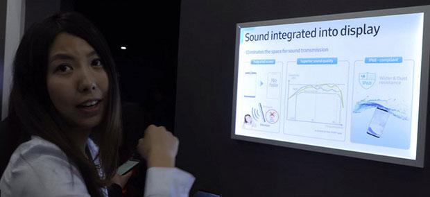 Samsung Galaxy S10 может получить экран на всю лицевую панель