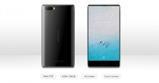 Смартфон Ulefone Power 2 работает набазе андроид 7