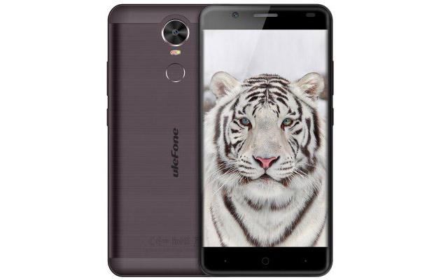Бюджетник Ulefone Tiger получил аккумулятор на4200 мАч ибиометрический сенсор