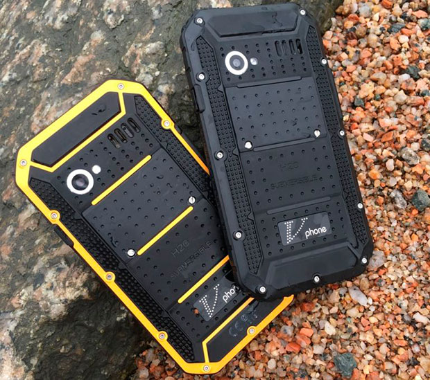 Представлен дешевый «внедорожный» смартфон Vphone M4
