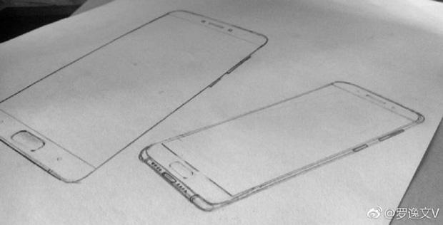 Размещены эскизы телефона Xiaomi Mi6
