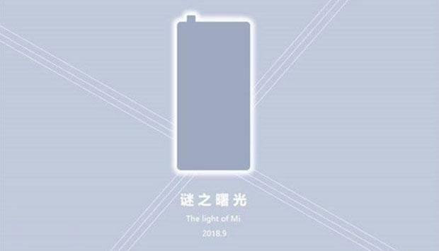 Изображения Xiaomi Mi MIX 3 показывают всплывающую фронтальную камеру