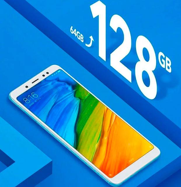 Презентован Xiaomi Redmi Note 5 на128 Гб