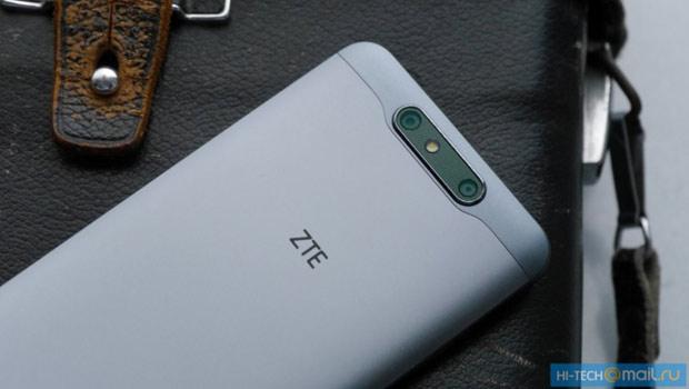ZTE рассекретила смартфон Blade V8 сдвойной камерой