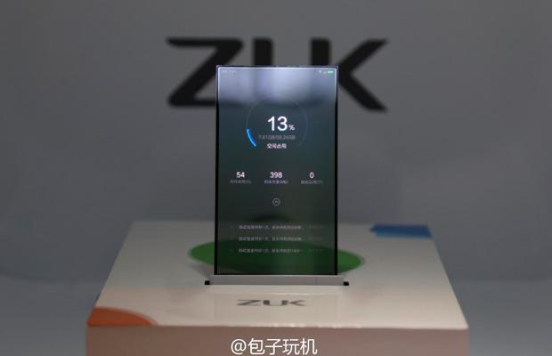 Финансируемый Lenovo стартап показал прозрачный смартфон