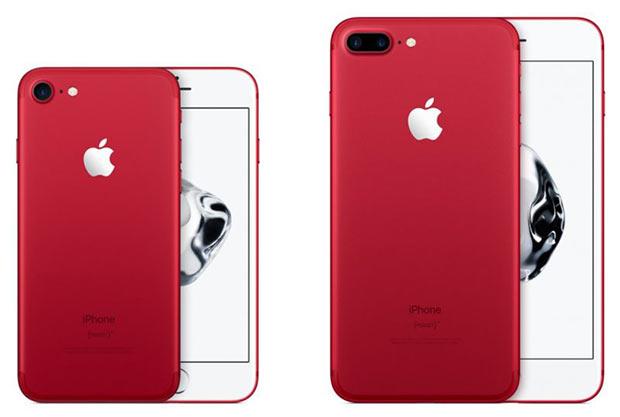 Apple убрала из продажи iPhone 7 и iPhone 7 Plus (PRODUCT)RED