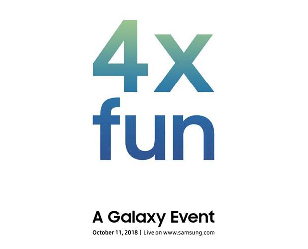 11 октября будет представлен смартфон Samsung Galaxy с четырьмя камера
