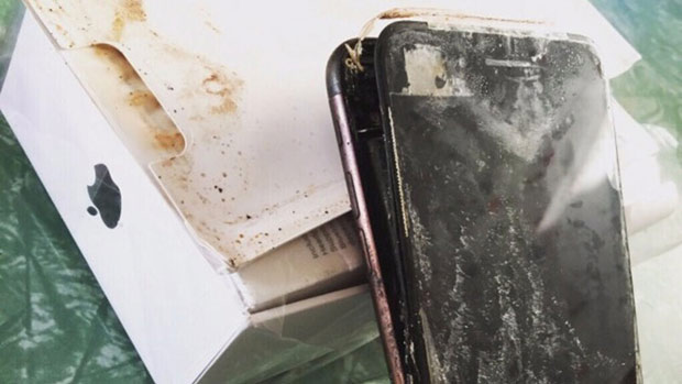 Возникла информация онескольких случаях возгорания iPhone 6