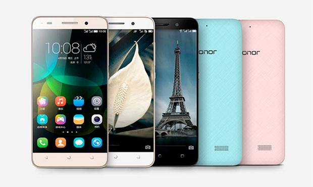 Huawei повторно представила смартфоны Honor 5X, 7i и 4A с более высокими ценами