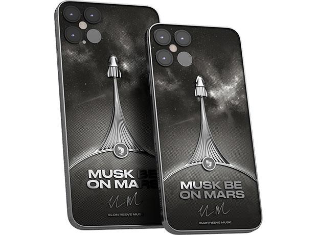 Caviar представила iPhone 12 Pro имени Илона Маска