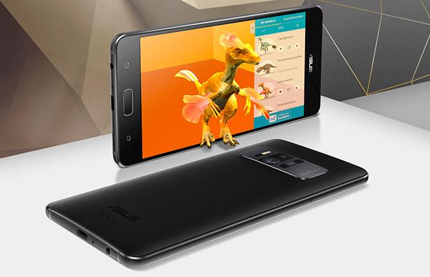 ASUS Zenfone AR— 1-ый вмире смартфон с8 ГБоперативной памяти
