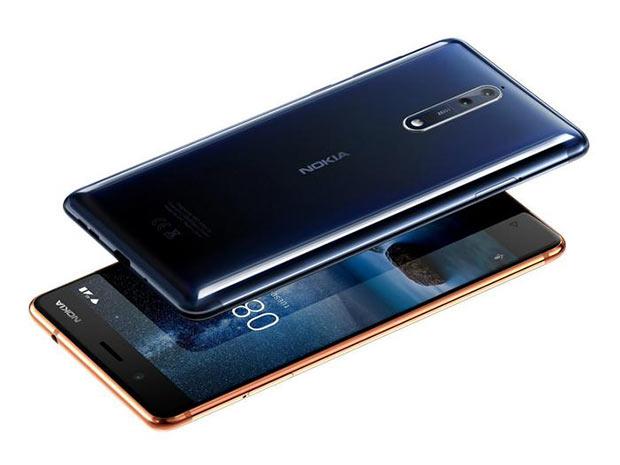 ВФинляндии впродаже возникла премиальная версия телефона нокиа 8