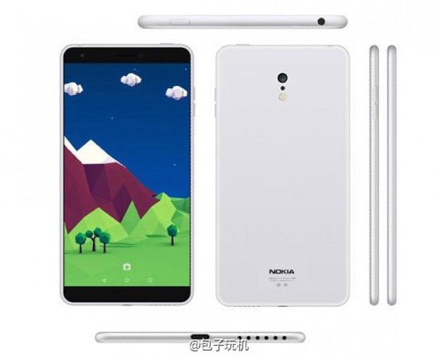 Nokia готовит к запуску безрамочный смартфон C1