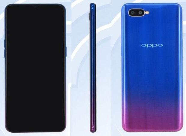 Oppo готовит к выпуску смартфон, похожий на Oppo R17