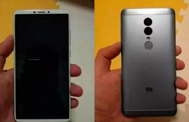 Характеристики ифото Xiaomi Redmi Note 5— Утечка