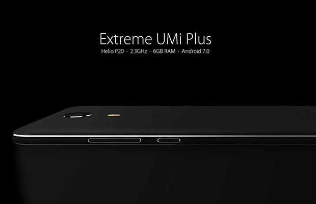 Представлена «Extreme» версия телефона UMi Plus с6 ГБоперативной памяти