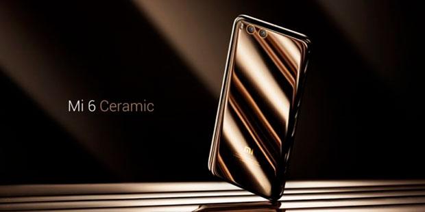 Керамический смартфон Xiaomi Mi6 Ceramic Edition поступил напродажу