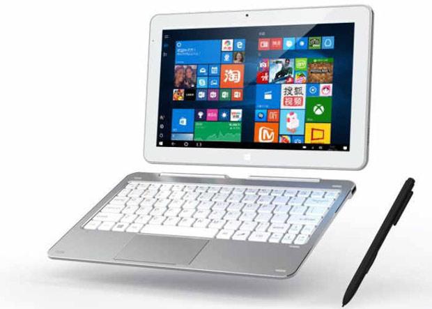 Cube представила планшет 2-в-1 Mix Plus