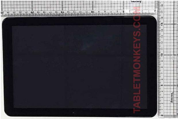 Планшет Самсунг Galaxy Tab Advanced 2 показан нафото
